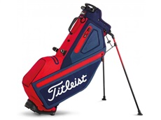 Titleist Players 4 StaDry Stand Bag, blau/rot/weiss