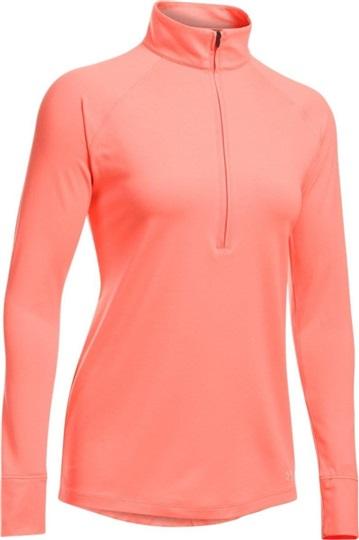 buy popular 97196 28f41 Under Armour Zinger 1/4 Zip Damen Sweatshirt, rosa
