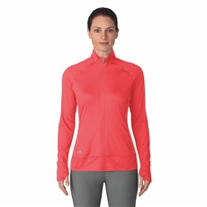 Adidas Rangewear Full Zip Damen Sweatshirt, real coral