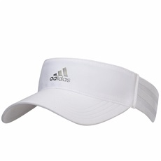 Adidas 3-Stripes Damen Golf Visor, weiss