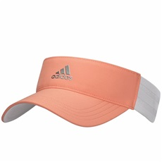 Adidas 3-Stripes Damen Golf Visor, chalkcoral