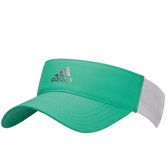classic style release info on best selling Adidas 3-Stripes Damen Golf Visor, grün
