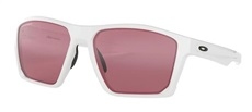 Oakley Targetline PRIZM Sonnenbrille, Polished White/Dark