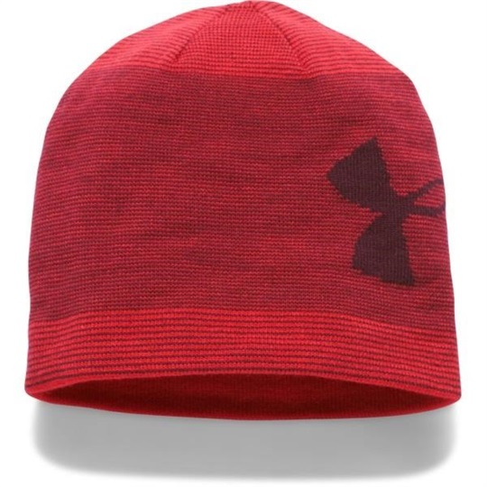 Under Armour Billboard 2.0 Beanie Wintermütze, rot