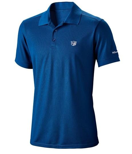 465f63f408ad13 Wilson Staff Authentic Herren Poloshirt, blau   GolfBrothers.de