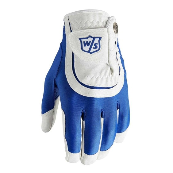 Wilson Staff Fit All Herren Handschuh, blau