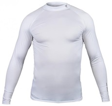 Tony Trevis Herren Thermo Shirt, Weiß