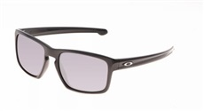 Oakley Sliver Sonnenbrille, Polished Black/Black Iridium