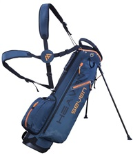 Big Max Heaven 7 Stand Bag, petrol/orange