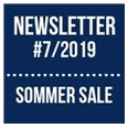 Newsletter 2019/07: Sommer Sale